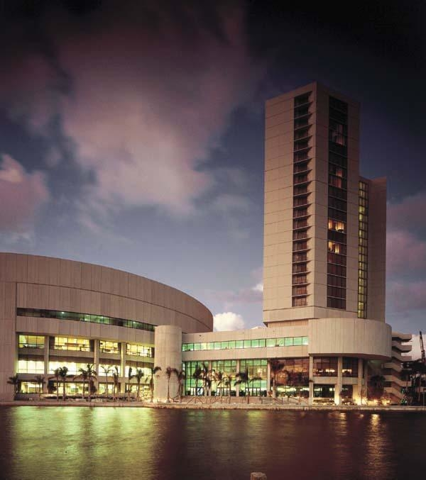 James L Knight Center and Miami Convention Center